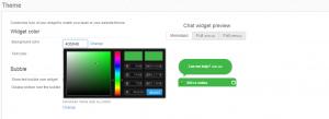 widget-customizaton