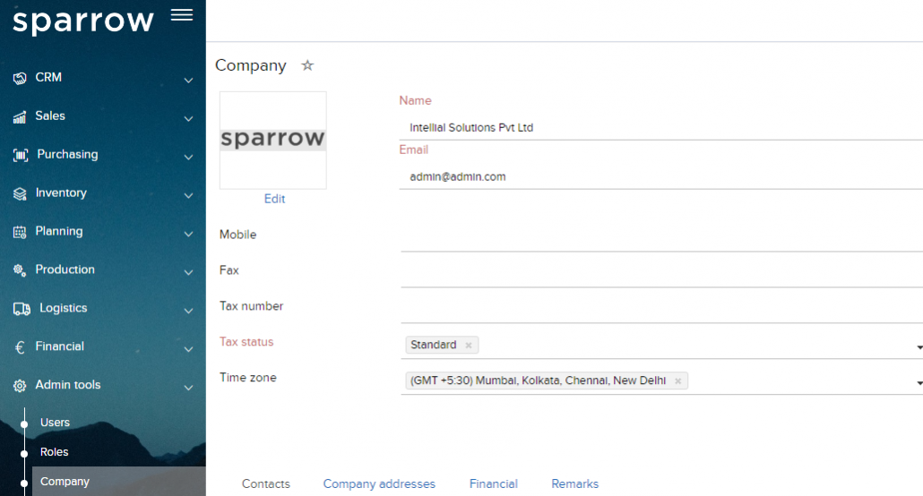Create Email Campaign – CRM