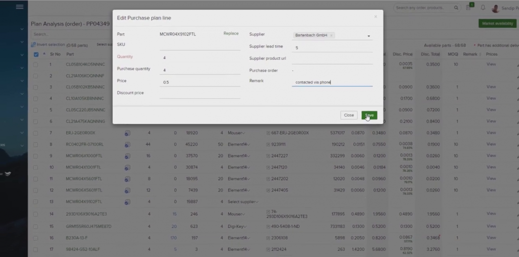 Automated Pricing Enter the Details Manually