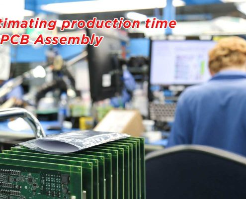 Estimating production time of PCB Assembly