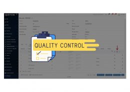 Quality Control Software Sparrow ERP