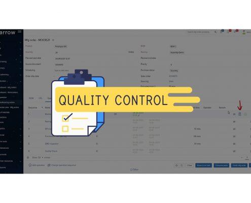Quality Control Software Sparrow ERP